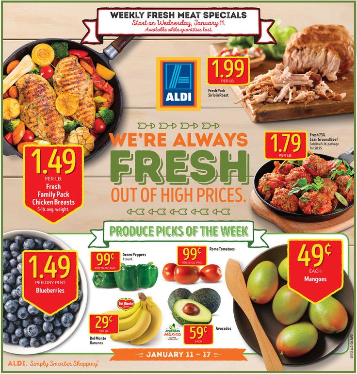 Aldi Weekly Ad January 11 - 17, 2017 - http://www.olcatalog.com/grocery/aldi-ad.html