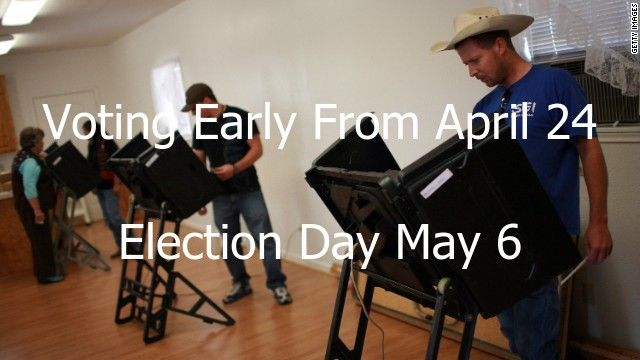 Early Voting in Pasadena Texas. - Pat Van Houte for a change.