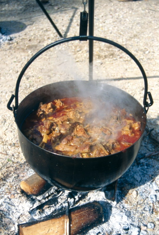 Caldereta Extremeña de Cabrito    Goat stew from Extremadura, Spain