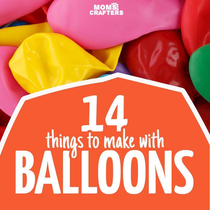 14 vreselijke dingen te maken met ballonnen - zult u van deze eenvoudige ballon ambachten zijn voor alle vaardigheden en leeftijd levels!  U zult ambachten voor kinderen, tieners en volwassenen vinden met gemakkelijke ideeën om ballonnen heb je over van een verjaardagsfeestje links hergebruiken.