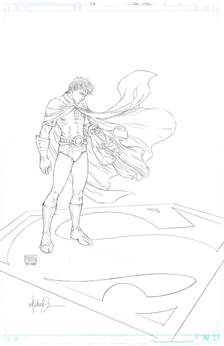 Michael Turner SupermanBatman 26 Cover FS Comic Book