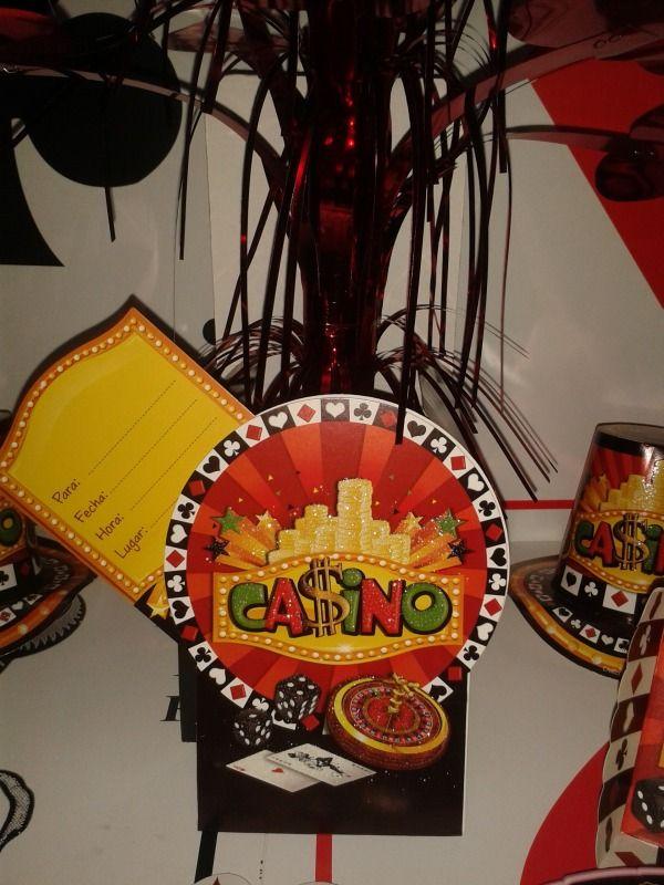 Invitaciones para tu fiesta Casino. #DecoracionFiestas #FiestaCasino