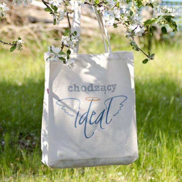 Kiedy ideał idzie na zakupy, musi mieć torbę, która udźwignie wszystkie całą tą jakość.