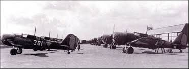 The most unfortunate of the Dutch military aircraft during WWII was the in 1939 acquired Douglas A3-N2, of which all of them were destroyed on the ground or in the first actions in may 1940