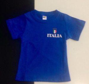 Maglietta manica corta ITALIA bambino 10/12 anni idea regalo | eBay