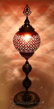 Turkish Style Decorative Table Lamp mediterranean table lamps