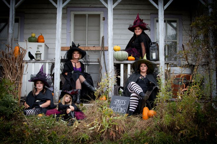 Witch Family Photos