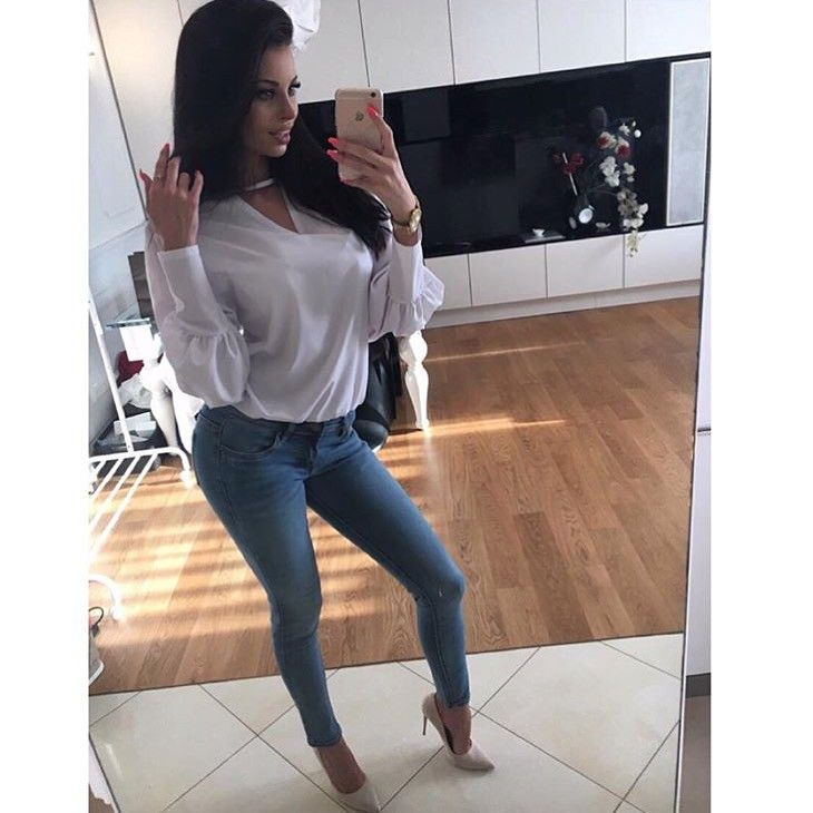 jeans, denimbox jeans, classic jeans, skinny jeans, summer jeans, polish girl, model
