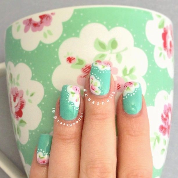 Mejores 212 imágenes de Nail Art! en Pinterest | Arte de uñas ...
