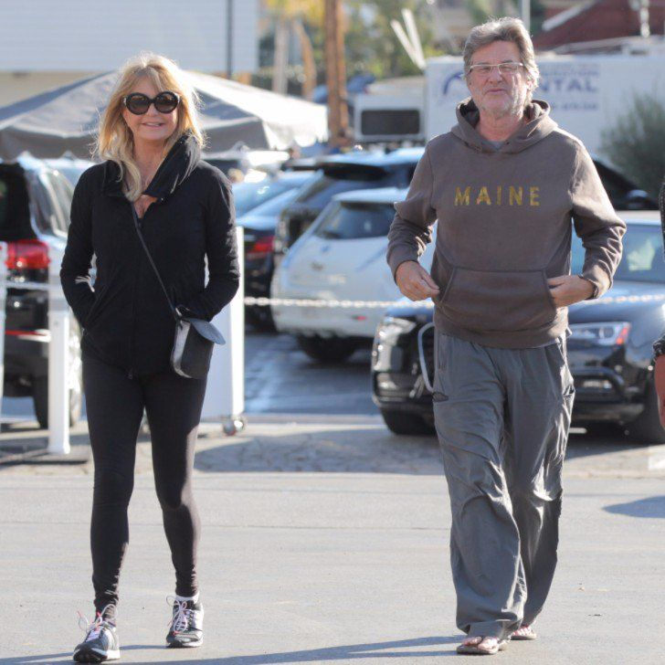 Kurt Russell Puts His Courtly Manners on Display During a Shopping Trip With Goldie Hawn
