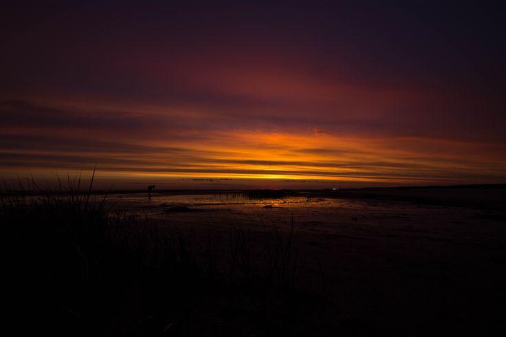 Immer wieder großarting  Sonnenuntergänge am Strand genießen. Hygge pur
