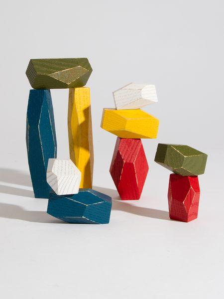 Multi Colored Balancing Blocks