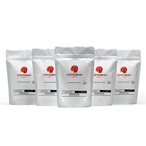 Coffee Bean Direct Coffee 5Pack Sampler Unroasted Organic Fair Trade 5 Pound >>> Learn more by visiting the image link.