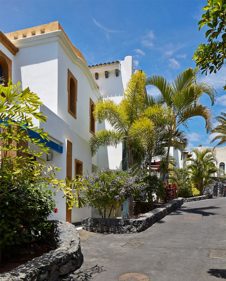 "Gardens & walkways around the villa's inside ""Hotel Suite Villa Maria"" Costa Adeje, Tenerife To book visit  etenerifeholidays.co.uk"