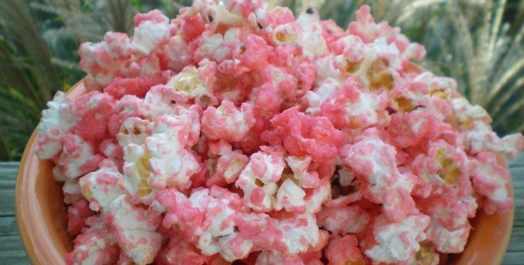 Sweet Pink Popcorn Recipe - Genius Kitchensparklesparklesparklesparkle