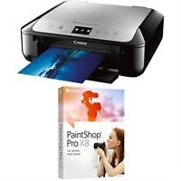 Canon PIXMA MG6821 Wireless Color Photo Printer, Scanner, Copier + Corel Pro X8 Bundle