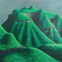 Michael DuncanSmither on artnet - Hills of Tongaporutu