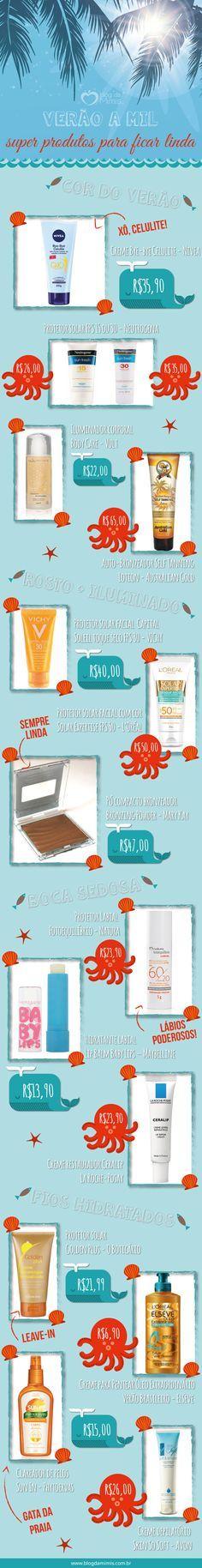 Verão a mil: super produtos para ficar linda - Blog da Mimis - Sabiam que têm produtos de beleza especiais para o verão? Eles são capazes do nos deixar ainda mais lindas e radiantes.