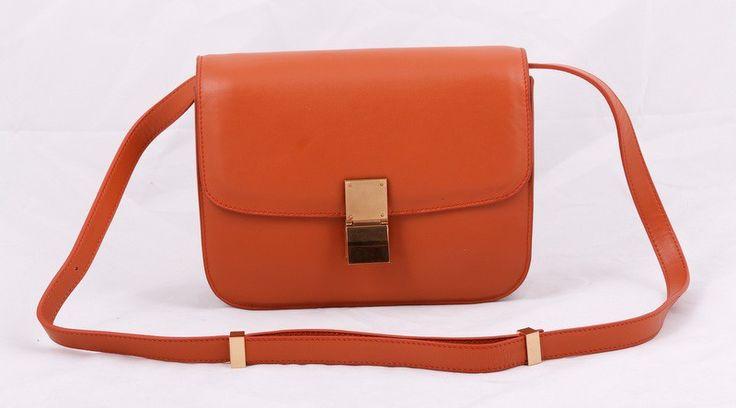 Сумка CELINE classic box bag натуральная кожа