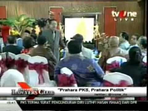 Prahara PKS, Prahara Politik pada acara Indonesia Lawyer Club (ILC) TVOne yang di pandu oleh Karni Ilyas hadir pada acara tersebut perwakilan dari PKS antara lain DR. Zulkiflimasyah, Aboe Bakar AlHabsyi
