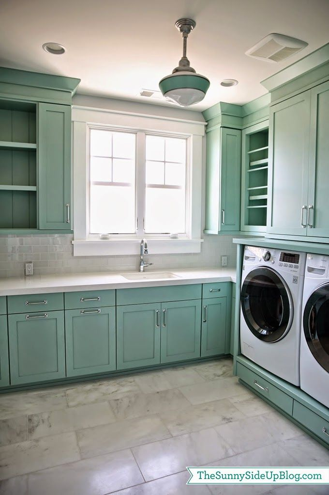 House of Turquoise: Laundry Room