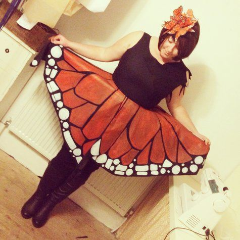 Butterfly Halloween Costume. Plus Size or Any Size.