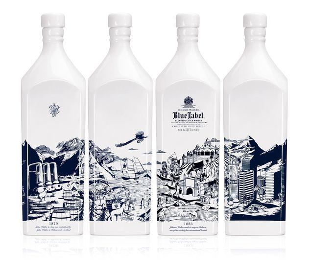 – Johnnie Walker Blue Label / Mumbai Bottle