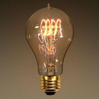25 watt victorian bulb 45 in length victorian light - Antique Light Bulbs