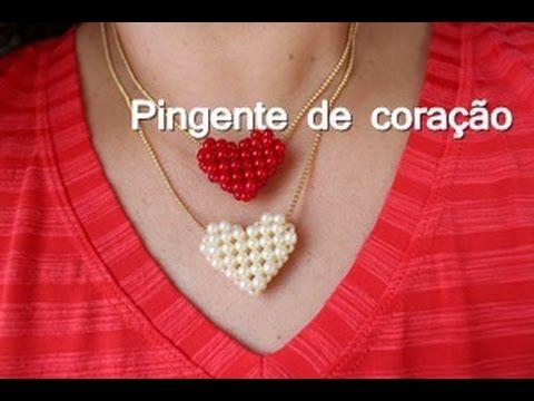 NM Bijoux - Colar com pingente de Coração - YouTube