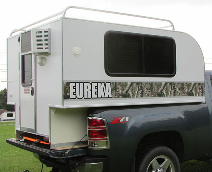 eureka campers inc eureka pup pick up papoose slide in camper america 39 s most affordable. Black Bedroom Furniture Sets. Home Design Ideas