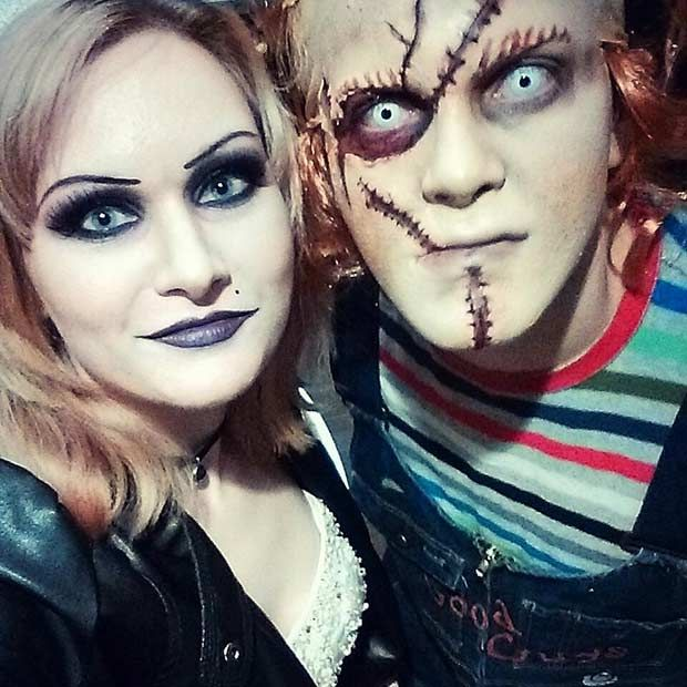 Best 25 bride of chucky costume ideas on pinterest chucky bride 31 creative couples costumes for halloween solutioingenieria Choice Image