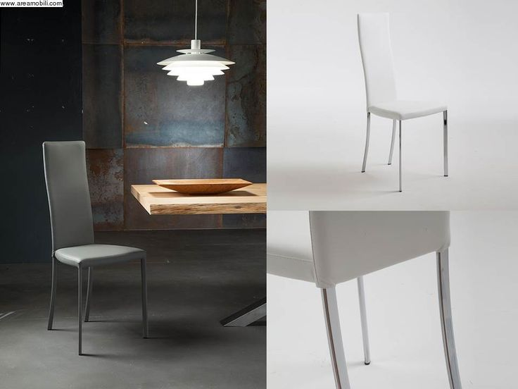 103 best Sedie moderne images on Pinterest | Dining chairs, Metal ...