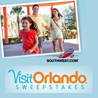 Southwest's Visit Orlando Sweepstakes
