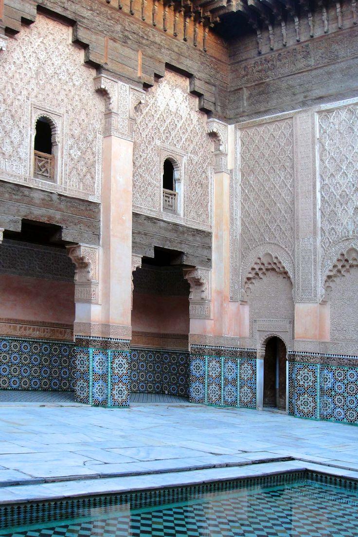 Marrakech 121118-1657 by Schoendy. Medersa Ben Youssef