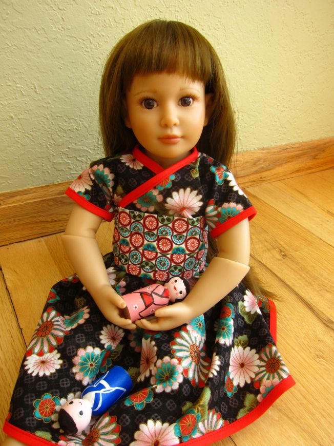 how to make hinamatsuri dolls