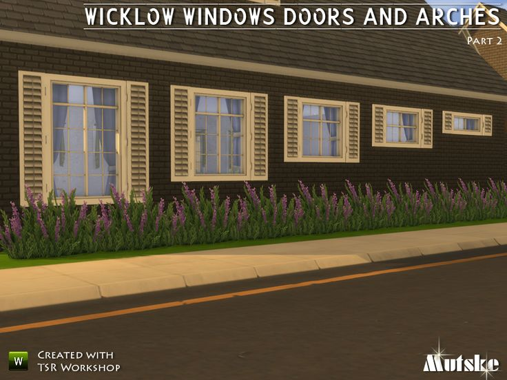 wicklow windows shutters doors u0026 arches 2 by mutske at tsr via sims 4 updates find this pin and more