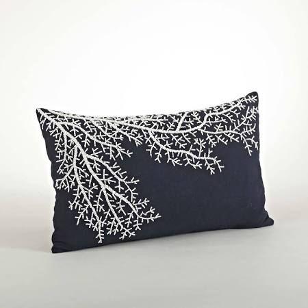 gray navy throw pillows - Google Search