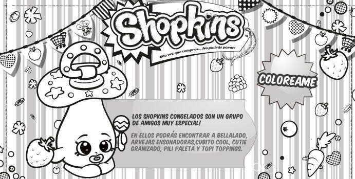 #Shopkins coloreables