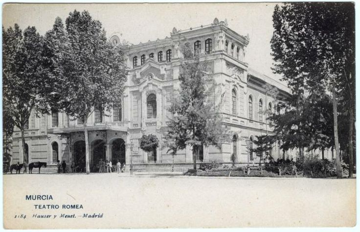 Visor Archivo General Región de Murcia. FOT_POS,03/085 / Teatro Romea. Murcia c. 1904