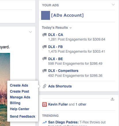 Συντόμευση των #Facebook διαφημίσεων στην Αρχική σελίδα  http://www.mediasystems.gr/syntomeusi-twn-facebook-diafimisewn-sthn-arxiki-selida/