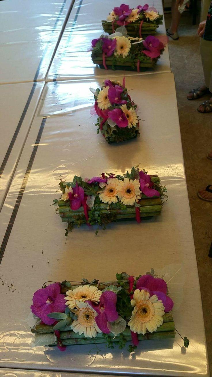 Art floral à l atelier