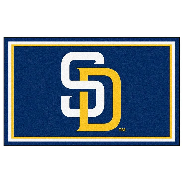 San Diego Padres MLB Floor Rug (4'x6')