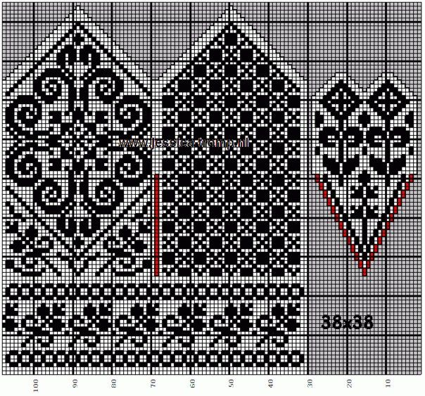 41 best knitting jacquard images on Pinterest   Knitting, Posts ...
