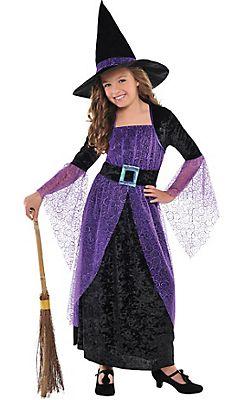 Girls Pretty Potion Witch Costume