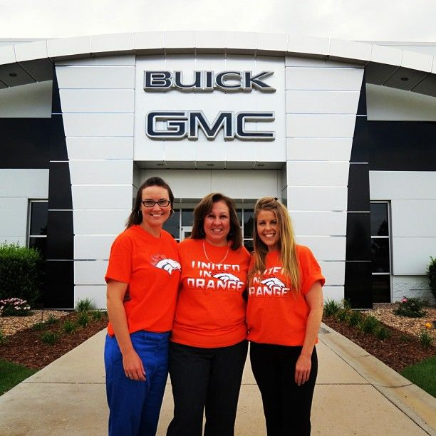 We're United in Orange and ready for tonight's Broncos game, are you?? #transwest #denverbroncos #broncosnation #unitedinorange #broncoscountry