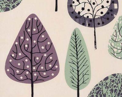 Shop by Colour :: Purple Roller Blinds :: Taiga Mint -