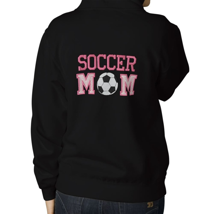 Soccer Mom - pink Hoody http://leukekadootjes.weebly.com/1/post/2013/04/voetbal-moeder.html mother's day moederdag