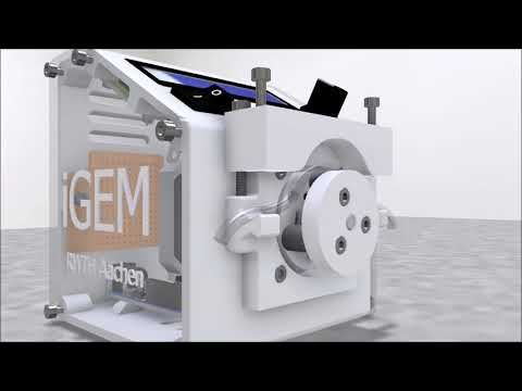 Precise Peristaltic Pump by iGEM_Aachen - Thingiverse
