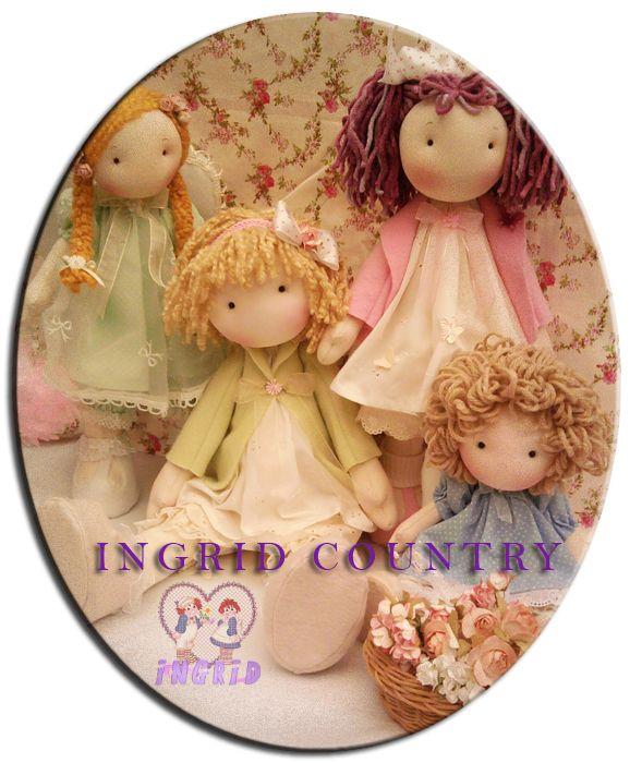 Mis muñecas. Ingrid Country - Ingrid Muñecas