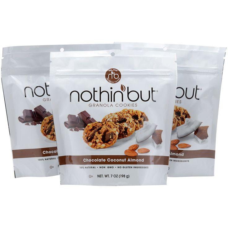 Chocolate Coconut Almond Granola Cookies 3 (7 oz resealable bag)